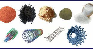 انواع نانو ذرات لوله های کربنی