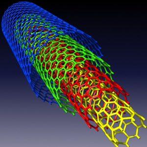 نانو ذرات لوله های کربنی چند جداره